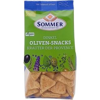 SOMMER Dinkel-Oliven-Snacks
