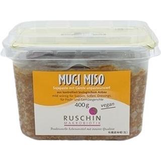 Ruschin Makrobiotik Mugi Miso Sojapaste mit Gerste unpasteurisiert