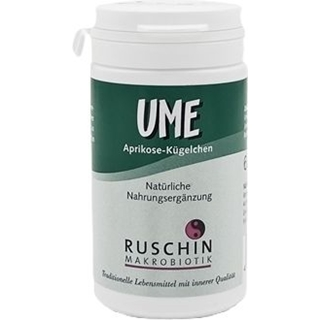 Ruschin Makrobiotik Ume Aprikosen-Kügelchen