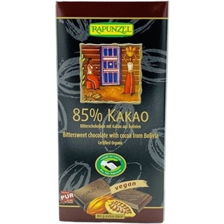 Rapunzel Schokolade 85% Kakao