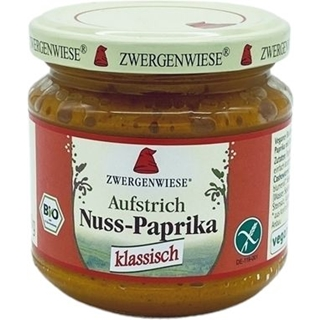 Zwergenwiese Nuss-Paprika Aufstrich
