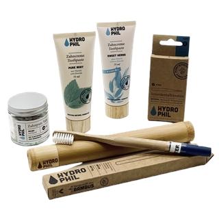 Nachhaltige Zahnputz-Produkte von HYDROPHIL