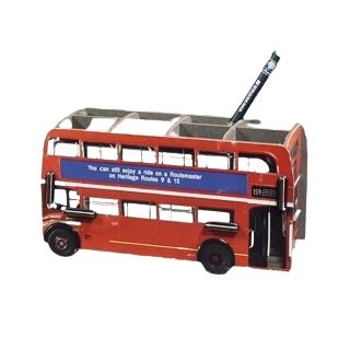 Werkhaus London-Bus Stifteablage