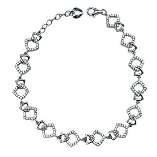 Armband Silber mit Zirkonia