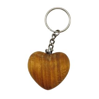 Schlüsselanhänger aus Holz (gravierbar)