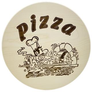 Pizzabrett (gravierbar)