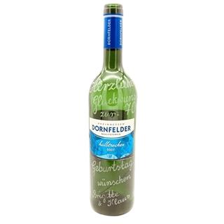 Weinflasche mit individueller Gravur