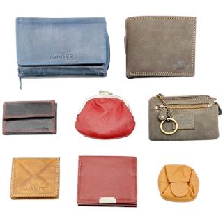 Portemonnaies aus echtem Leder