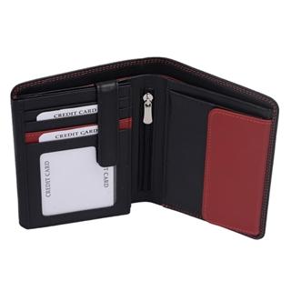 Tasche (rot, grau, schwarz)