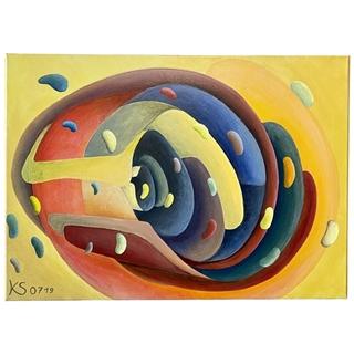 TRUDE II (Acryl auf Leinwand | 50 x 70 cm | KS 0719)