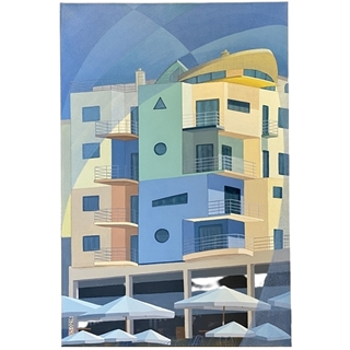 Albufeira Marina (Acryl auf Leinwand | 60 x 90 cm | KS 0216)