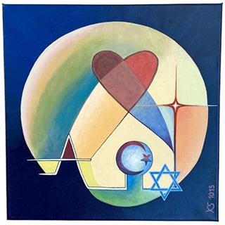 Symbolik (Acryl auf Leinwand | 40 x 40 cm | KS 1015)
