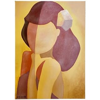 Stereotyp (Acryl auf Leinwand | 50 x 70 cm | KS 2219)