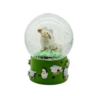 Schaf-Schneekugel