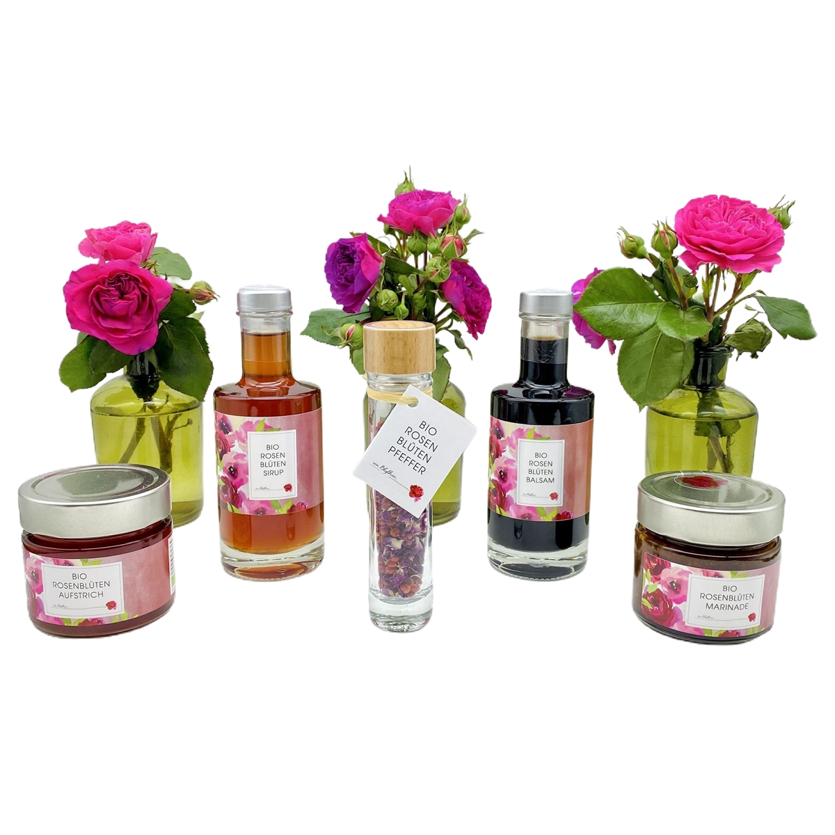 Bio Rosenblüten Spezialitäten